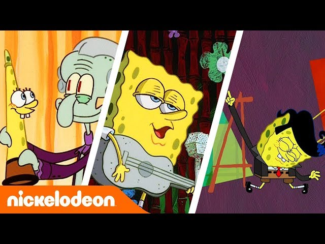 SpongeBob SquarePants | Muzikale momenten 🎵 | Nickelodeon Nederlands