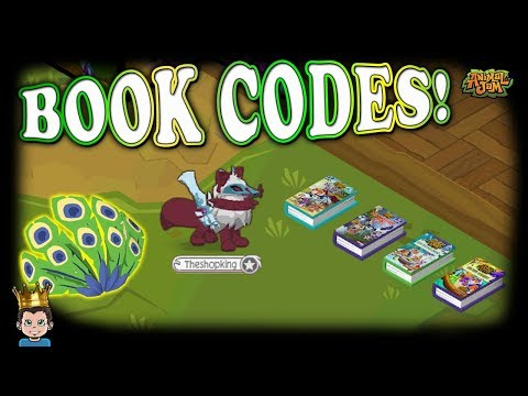 New Treasure Book Promo Code On Animal Jam + Peacock Feathers Giveaway!