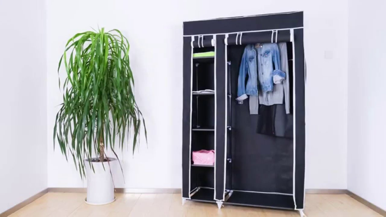 jago mobiler kleiderschrank farbwahl klsk01 youtube. Black Bedroom Furniture Sets. Home Design Ideas