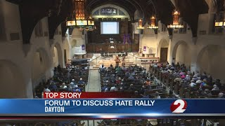 Community members discuss response to planned KKK rally thumbnail