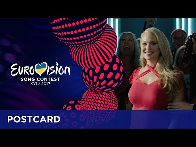 Postcard of Anja from Denmark - Eurovision Song Contest 2017