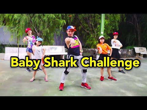 Baby Shark Dance By Aron Kwok ( Challenge 5 Speed )