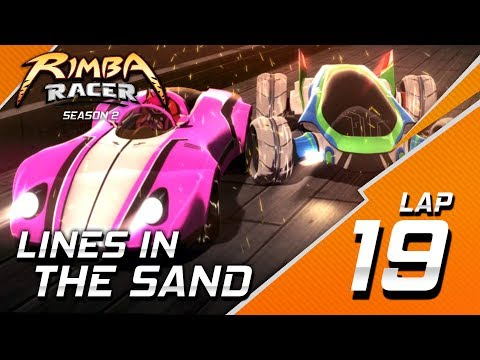RIMBA Racer   Lap 19   Lines In The Sand   Animation