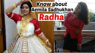 Know About Aemila Sadhukhan 📺Zee Bangla Serial Radha Actress aemila sadhukhan