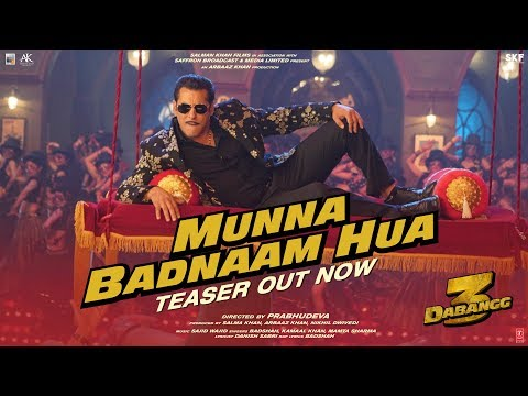 DABANGG 3 - Munna Badnaam Hua Video Teaser | Salman Khan, Sonakshi
