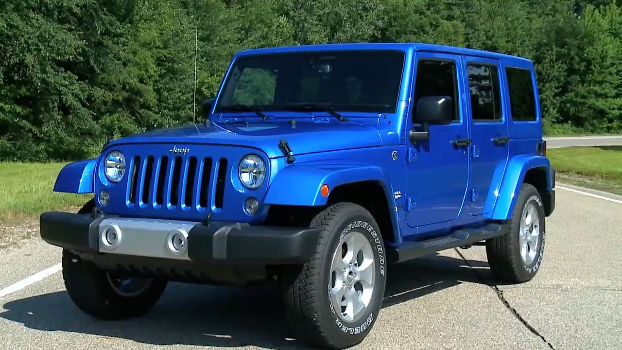 ▻ 2015 jeep wrangler sahara unlimited - youtube