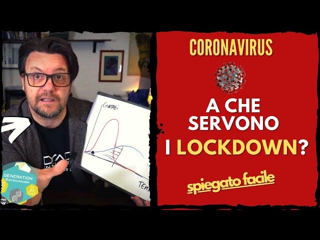 Coronavirus: a che servono i lockdown? // Le misure di contenimento spiegate bene