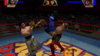 Ready 2 Rumble (1999) intro and gameplay