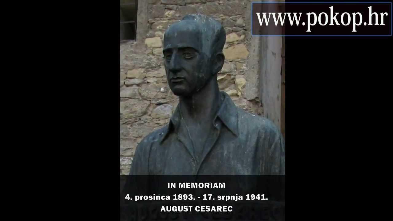 August Cesarec Video Biografija Sjecanja Na Poznate Hrvatske