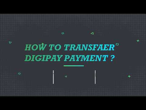 How to Transfar DigiPay Amount In Bank