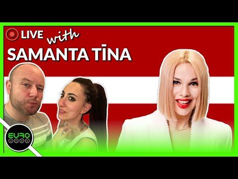 VOXX SOCIAL WITH SAMANTA TINA (LATVIA EUROVISION 2020) | LIVE