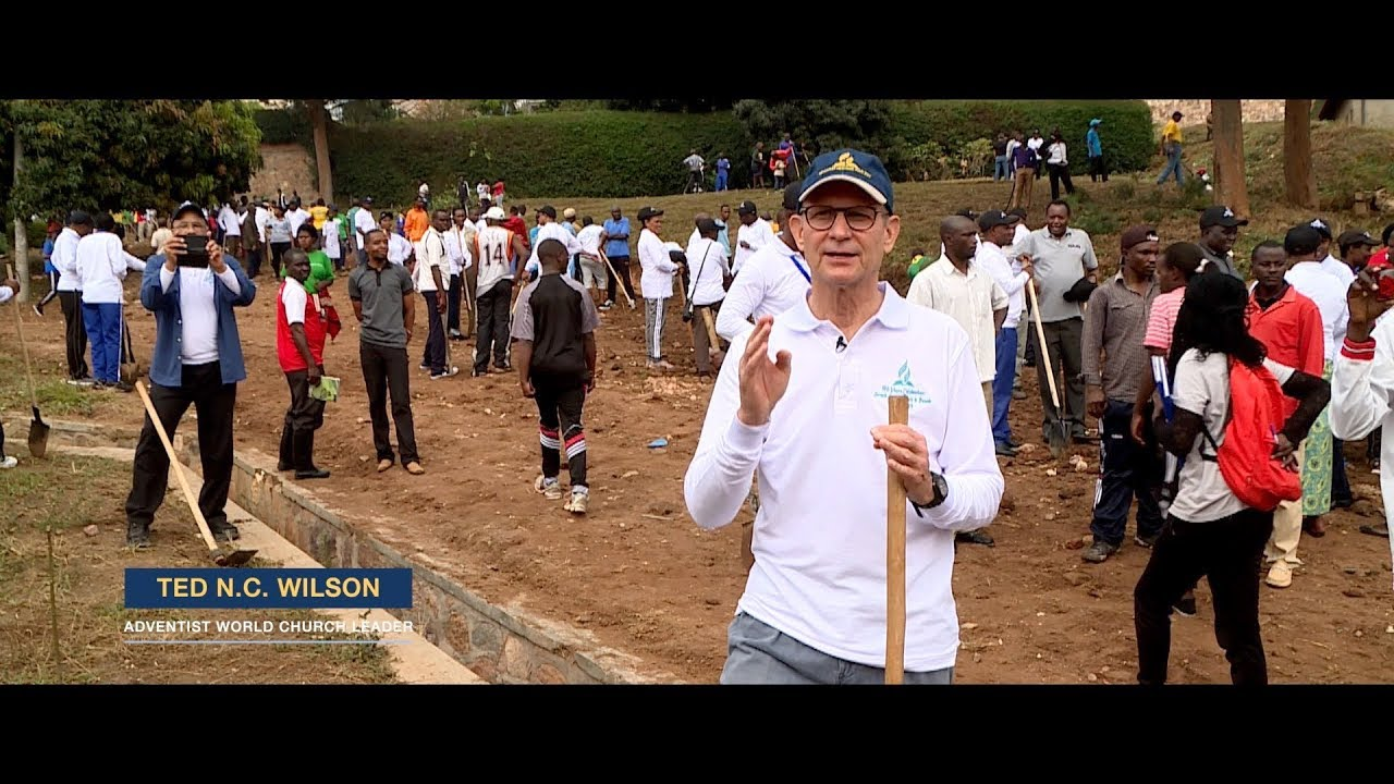 "The Adventist Church in Rwanda participates in ""Umuganda"""