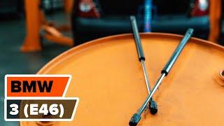 Hvordan og hvornår skifte Gasdæmper bagklap BMW 3 (E46): videovejledning