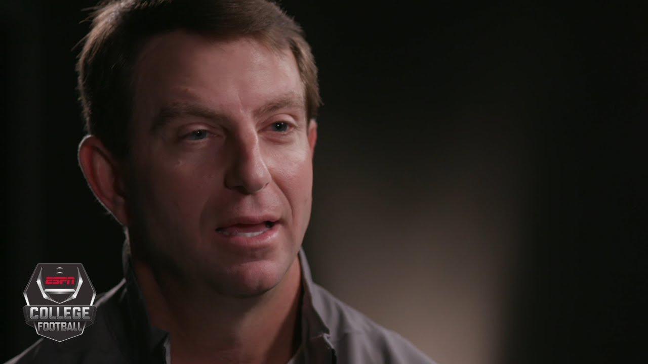 Dabo Swinney exclusive on silencing Clemson's doubters, playoff vs. OSU | College Football on E