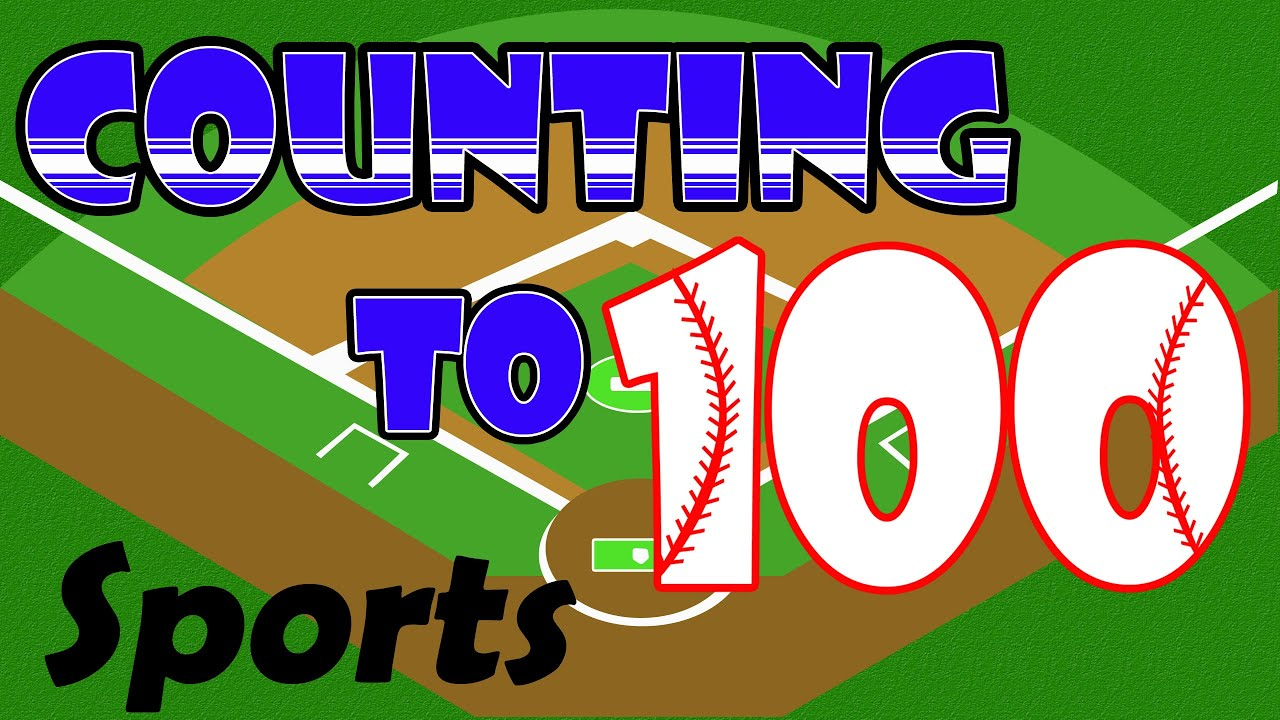 counting to 100 sports theme learning to count for kids