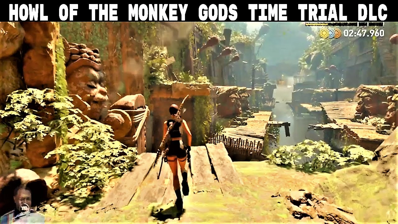 Shadow of the Tomb Raider | HOWL OF THE MONKEY GODS DLC | Challenge Tomb | Gameplay