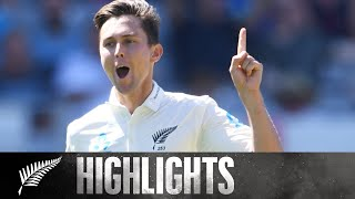 England Bowled Out For 58 | HIGHLIGHTS | 1st Test, Day 1 - BLACKCAPS v England, 2018