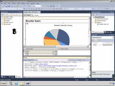 SQL Reporting Services como publicar un reporte