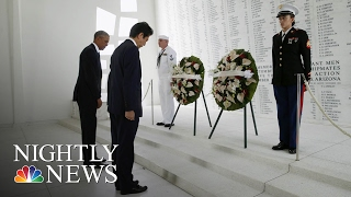 Japanese PM Shinzo Abe Pays Respects At Pearl Harbor Memorial …