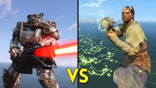 Fallout 4 - 50 BROTHERHOOD OF STEEL vs 50 CHILDREN OF ATOM - Battles #57
