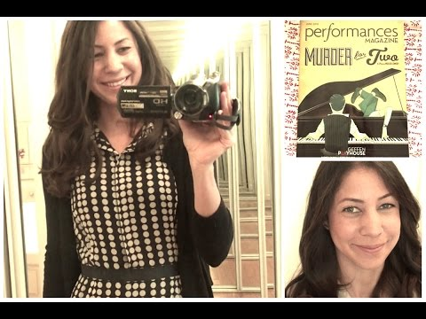 Get Ready With Me Night at the Theatre Murder for Two