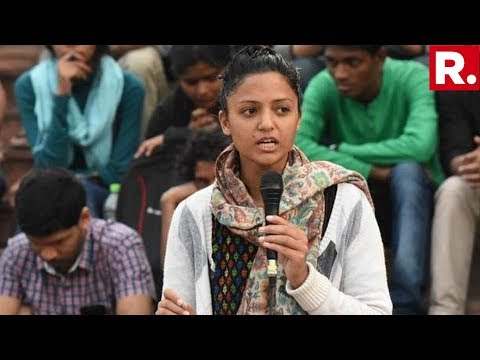 Shehla Rashid Confirms Her Kashmir Fake News Was Based On Hearsay