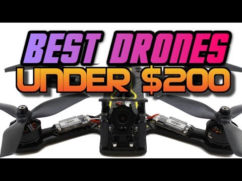 TOP 5 FPV RACING DRONES OF 2017!! BUYERS GUIDE- UNDER $200