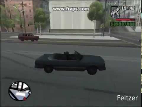 GTA: San Andreas - Import/Export (List 1) All Cars
