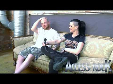 Access: Ivan L. Moody of Five Finger Death Punch in Stockholm, Sweden