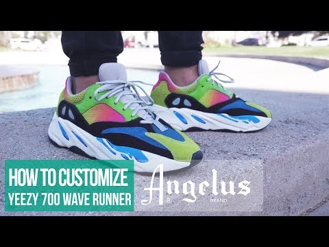 Yeezy Boost 700 Wave Runner | Custom Shoes | Angelus Paint