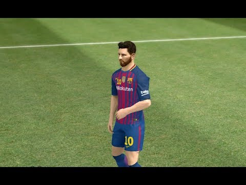 Kit Barcelona 2017/2018 Dream League Soccer 2017 Android Gameplay #41