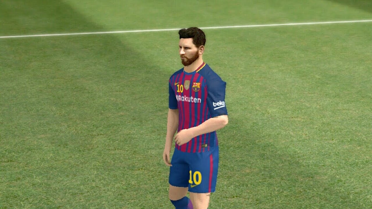 kit barcelona 2017 2018 dream league soccer 2017 android gameplay