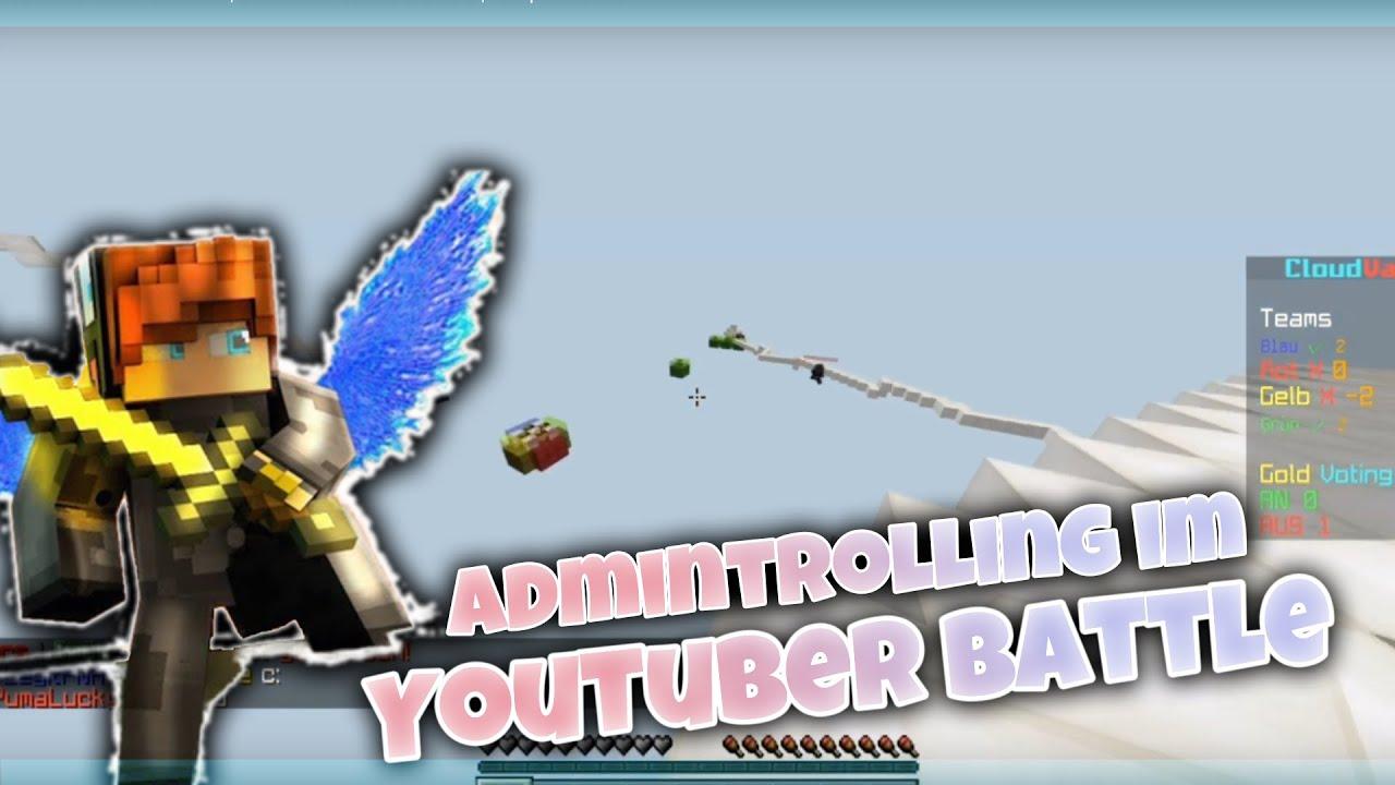 Das YouTuber-Battle lief aus dem Ruder! | Battle auf CloudVace.DE | KnirpsKeimYT