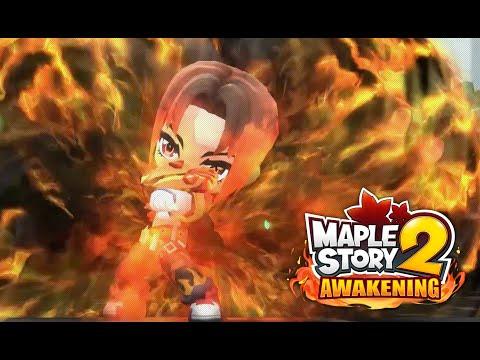 MapleStory 2 Awakening: New Striker Class