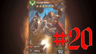 Heroes Of Camelot - Episode 20 - Evolving 7 cards Primal Rider Thumbnail