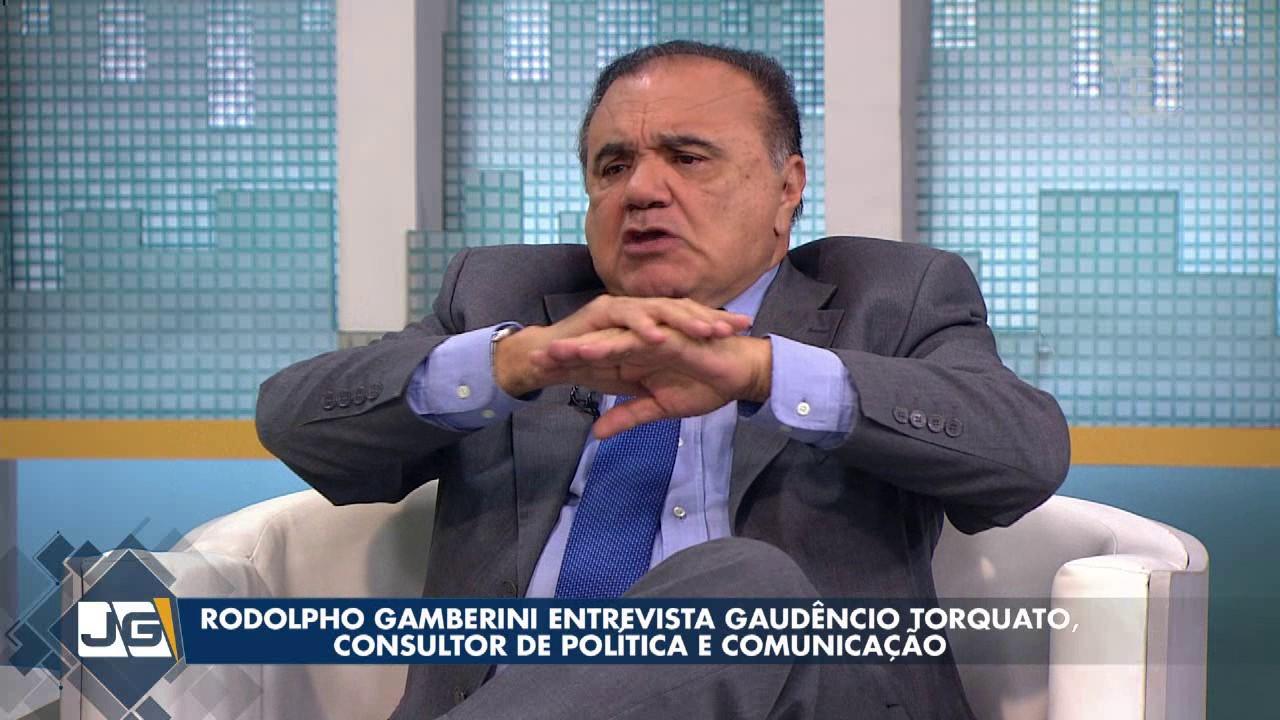 Resultado de imagem para palestra do jornalista Gaudêncio Torquato.