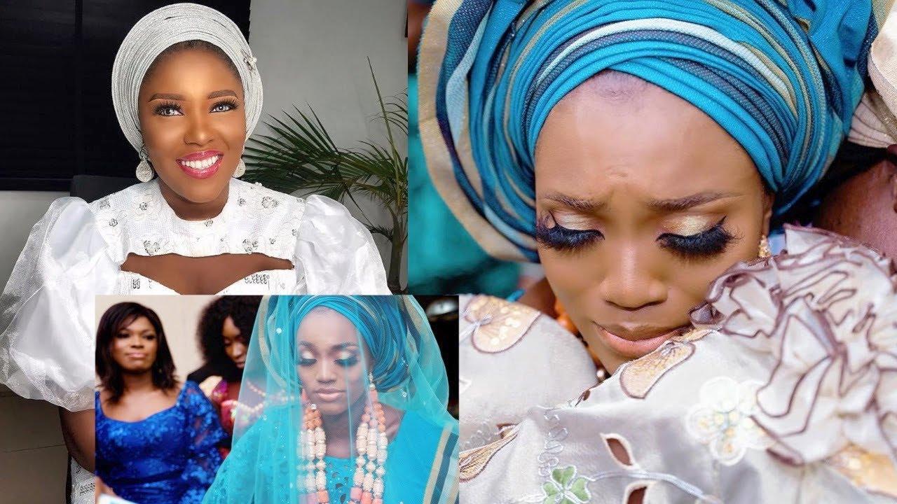 Download WATCH The Emotional Way Abiola Adebayo Celebrates Yoruba Actress Bukunmi Oluwashina On Her Wedding