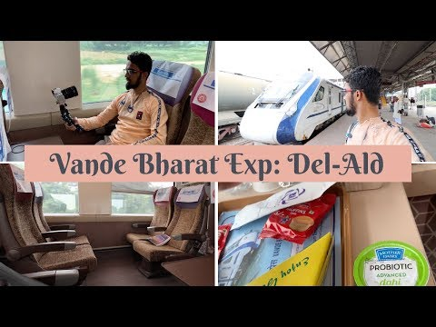 India's Fastest Train | Executive Class | Delhi-Allahabad