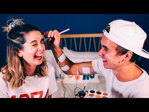 Thumbnail: Brother Does My Makeup (Shock Edition) | Zoella