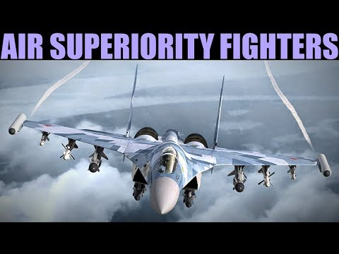 Explained: Correct Use Of Air Superiority Fighters In A