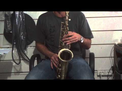 Teste Sax Alto Eagle SA 500 VG (Envelhecido) Mercado Livre - Finale Music