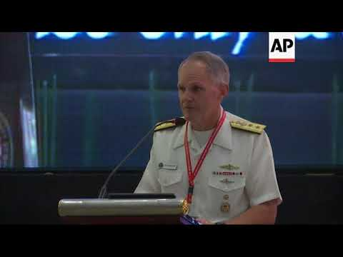New US vice admiral on ship collision