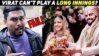Virushka Wedding | CRAZY tweets on Virat Kohli & Anushka Sharma Wedding by Pak Players