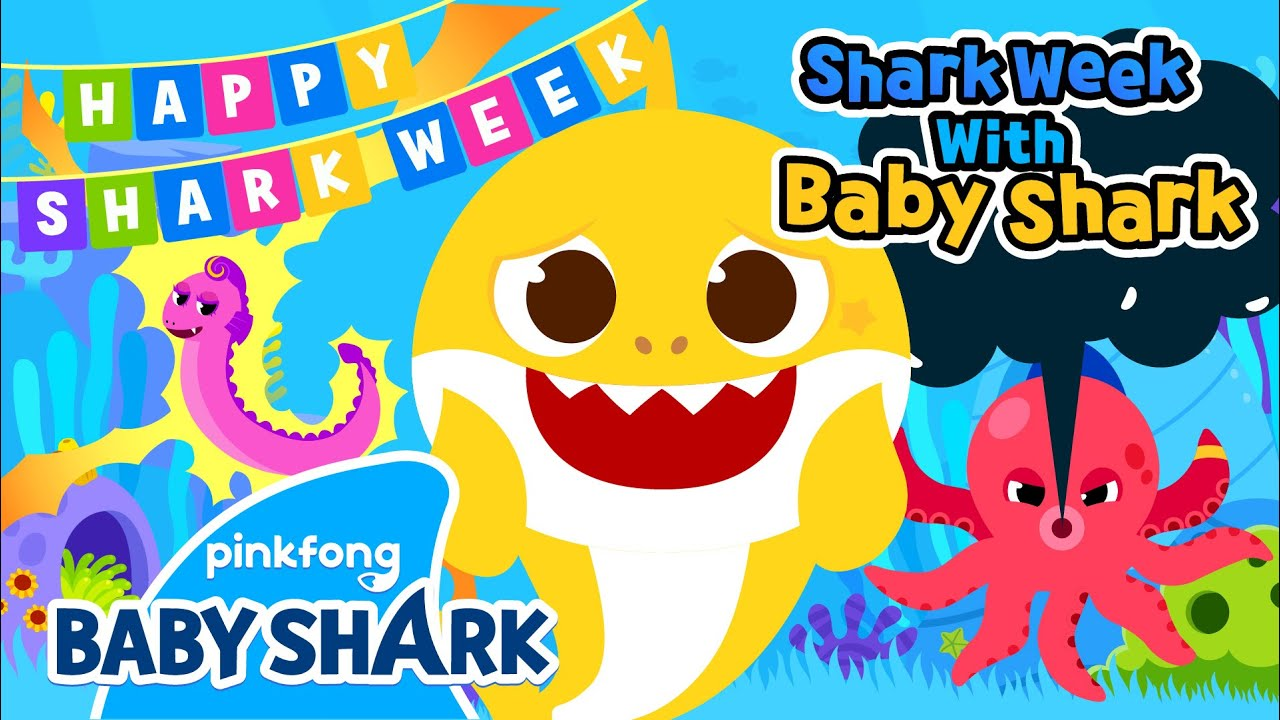 Meet the Naughty Ocean Friends | Shark Week with Baby Shark | Baby Shark Official
