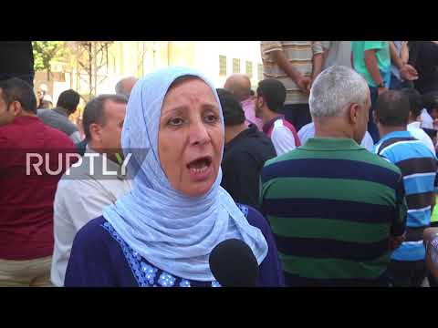 State of Palestine: UN aid agency workers protest job losses