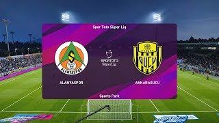 PES 2020   Alanyaspor vs Ankaragucu - Turkey Super Lig   30 November 2019   Full Gameplay HD