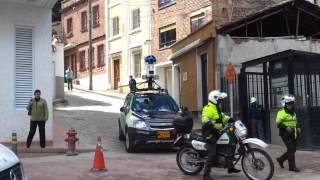 Cámaras de Google maps en Bogotá Free HD Video