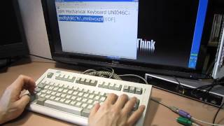 IBM Model M Space Saver 139407 (UNI0C46, 2001 by Unicomp)
