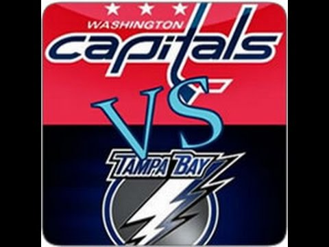 EAPHL #friendly Tampa Bay Lightning - Washington Capitals 4 on 4 NHL 16 PC