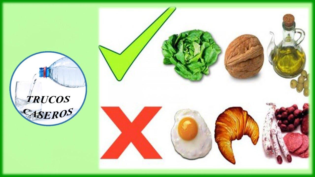 Como bajar el colesterol malo de forma natural remedios caseros para el colesterol youtube - Alimentos a evitar con colesterol alto ...